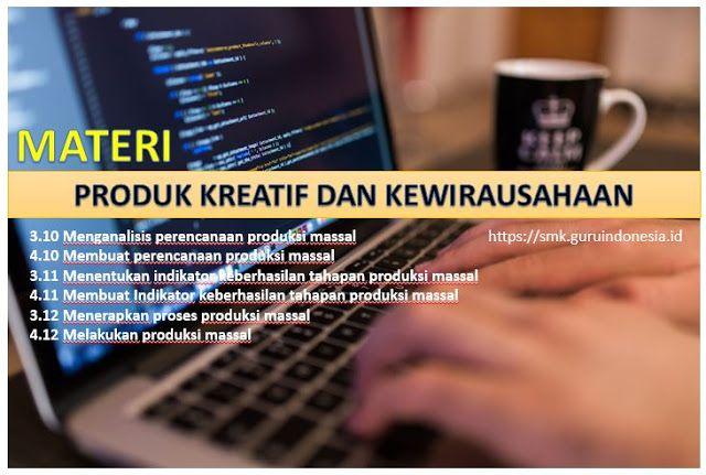 Silabus Produk Kreatif Dan Kewirausahaan - IlmuSosial.id