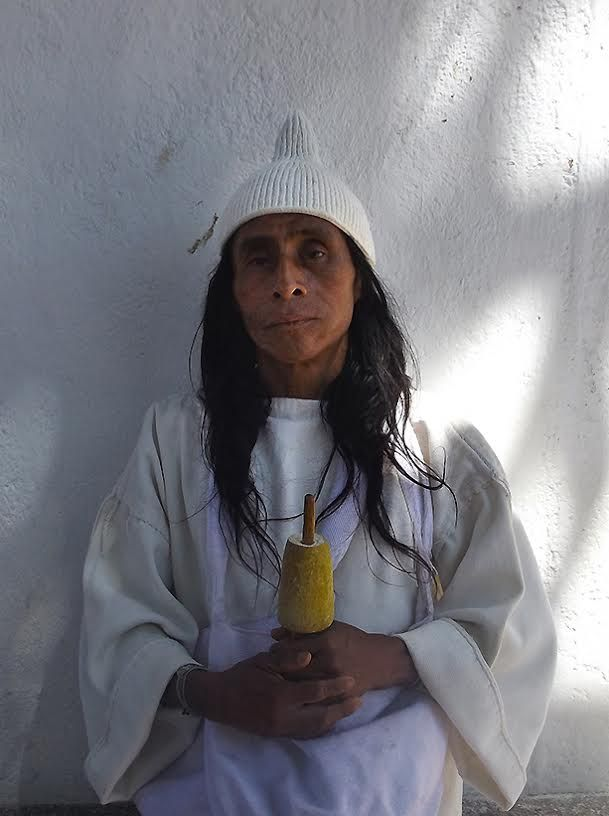 MAMO ROMUALDO Lider espiritual de la tribu kogui