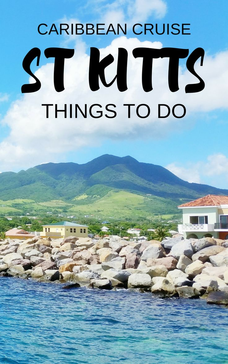 For your Caribbean cruise without excursions, things to do in St Kitts, including taking instagram pictures near St Kitts cruise port. You'll pass near Basseterre for shopping and food. Budget-friendly island activities after you get back from beaches, resorts, or tours! Cruise tips for your Caribbean cruise to St Kitts that might include Grand Turk, San Juan Puerto Rico, St Maarten, Barbados, St Lucia too.