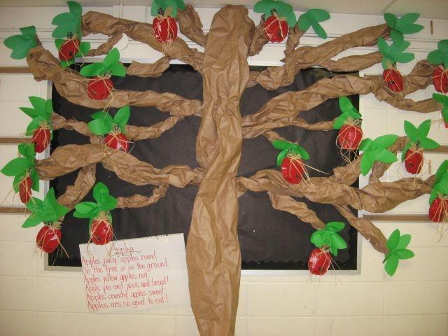 Apple Tree Classroom Ideas ~ Best fall bulletin boards images on pinterest