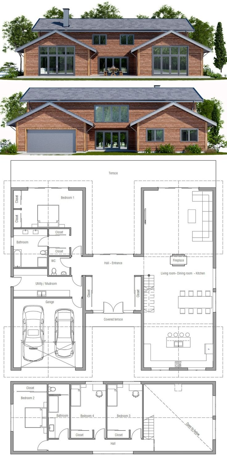 875 best houses and plans images on pinterest house floor plans modern farmhouse home plan
