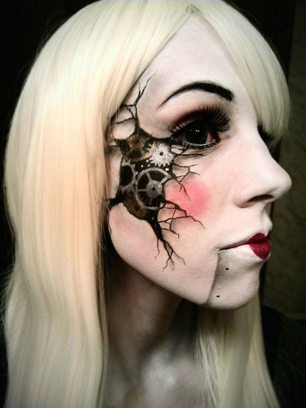 20 Of The Most Creative And Scary Halloween Makeup Ideas - Architecture &…