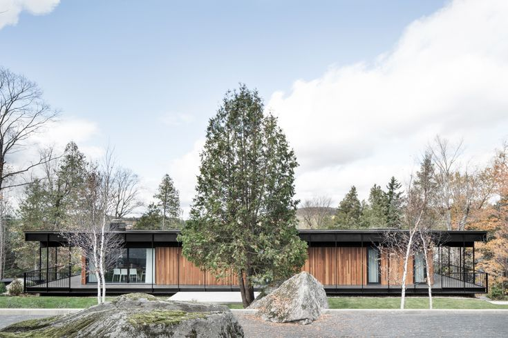 Le Phenix House by Alain Carle Architecte