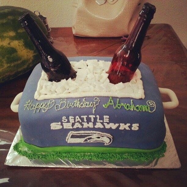 10 Best Seahawk Cakes Images On Pinterest Seahawks Anniversary