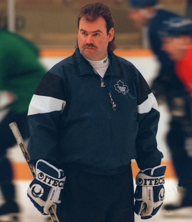 Coach Pat Burns