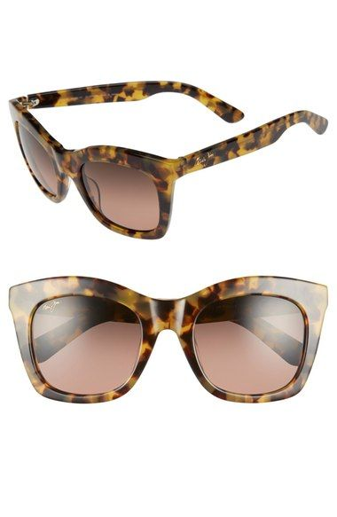 Maui Jim 'Coco Palms' 51mm PolarizedPlus2® Sunglasses available at #Nordstrom