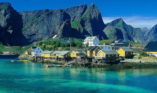 Norway coastline