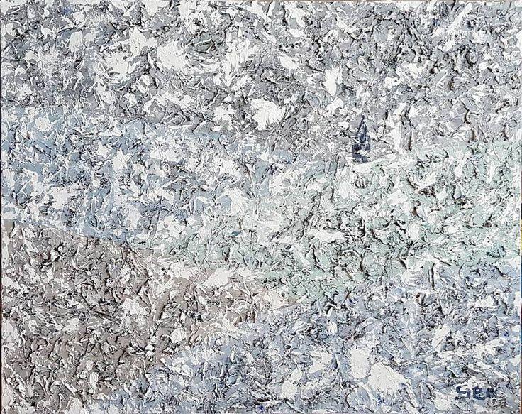 """좋아요 72개, 댓글 14개 - Instagram의 Youyeong.Seo(@blibla_art)님: """". Loneliness 90.9×72.7cm Acrylic on canvas . . . . #acryliconcanvas #painting #texture…"""""""