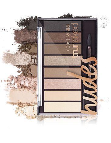 Eyeshadow | trunaked Eyeshadow Palettes | COVERGIRL