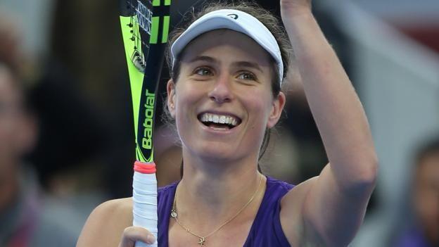 #tennis #news  Konta wins most improved player award