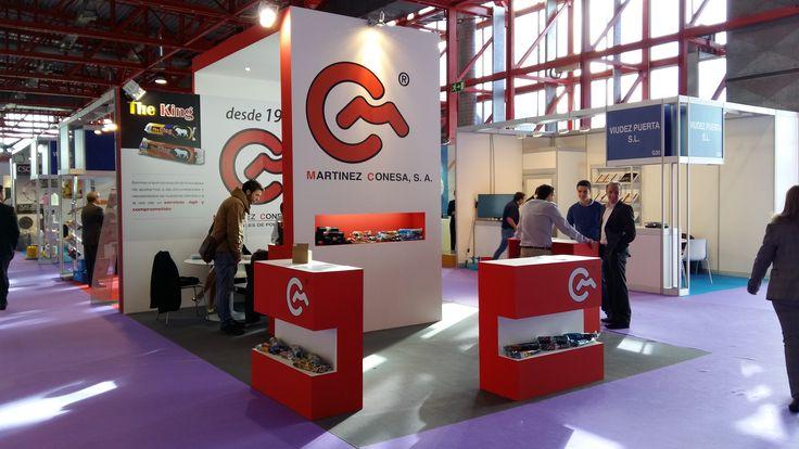 Diseño stand Feria Valencia Hygienalia 2015