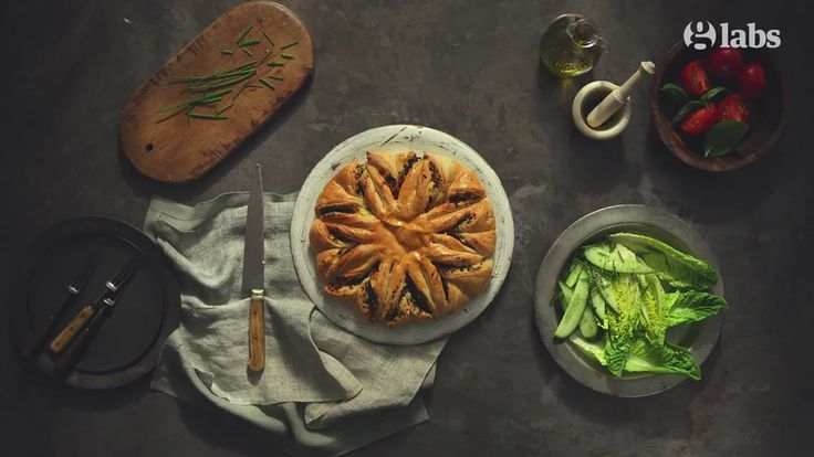 Brie & Tapenade Tear 'n Share Bread - The Guardian / Animated Recipe on Vimeo