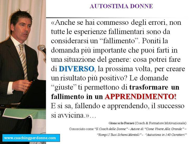 Tutti i libri di Giancarlo Fornei: Fallendo e apprendendo, il successo si avvicina......