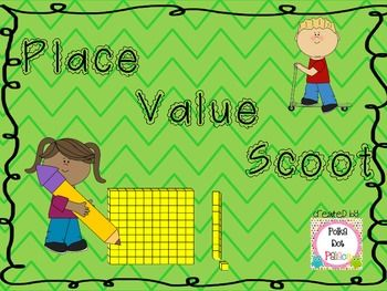 FREE Place Value Scoot: up to 3 digit/hundreds place only