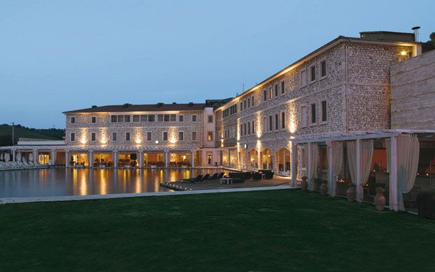 The Terme di Saturnia, nestled in the heart of the Tuscan Maremma, have made the number one spot on CNN Top 20 spas and wellness retreats