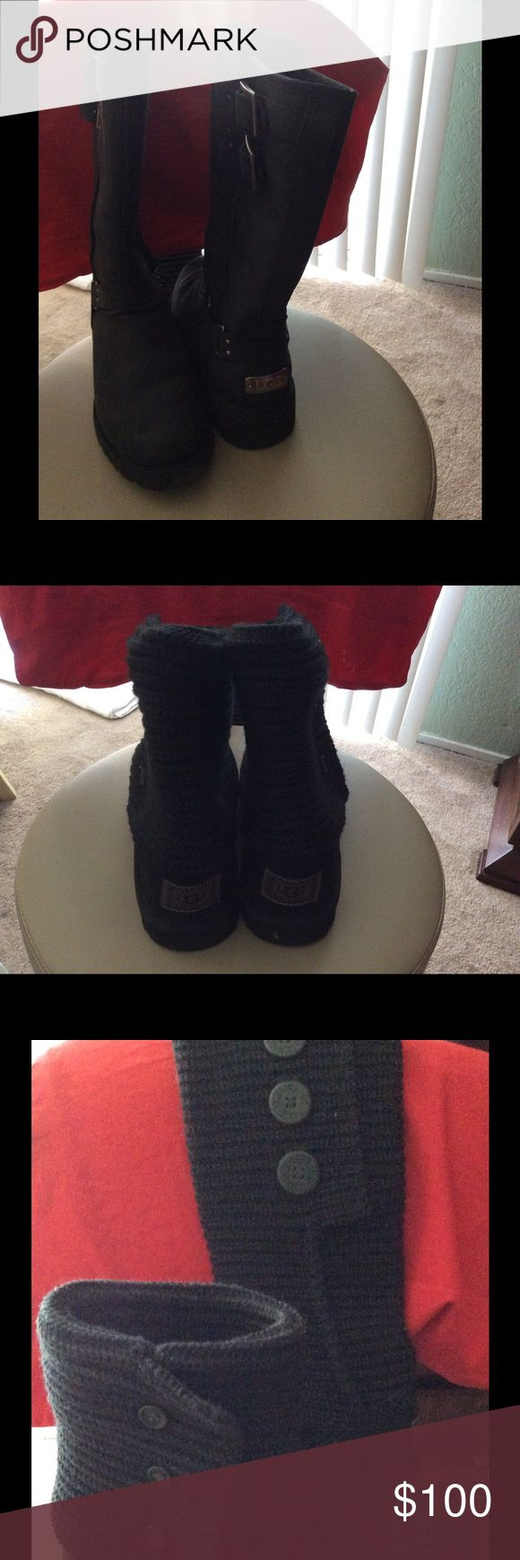 Original UGG boots I just bought this year worn twice. Still in good condition. UGG Shoes Winter & Rain Boots