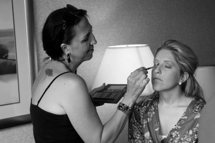 On location services. We come to where ever you are getting ready on your big day.