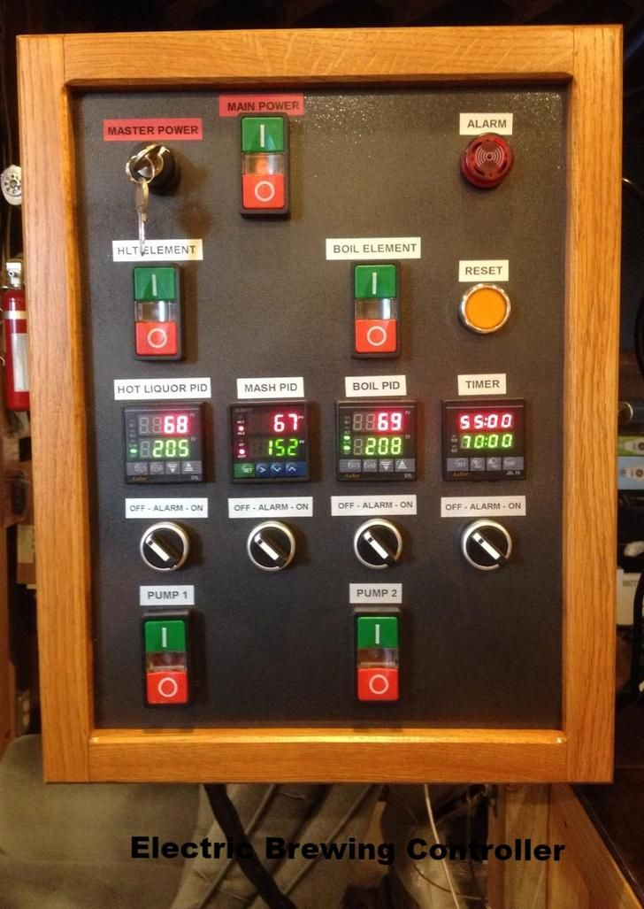 109 best images about brewing control panels on for Best electrical panel for house