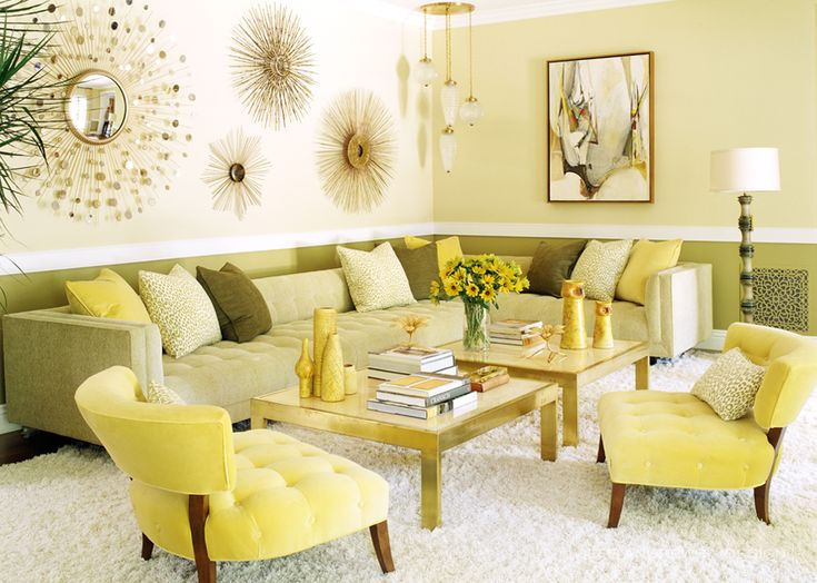 78 best Living Room images on Pinterest Living spaces, Living - yellow living room walls