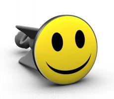 Smiley - eines der wohl bekanntesten Symbole der Neuzeit. Hier als Waschbeckenstöpsel für ein fröhlicheres Waschbecken! Damit melden wir uns zurück ins neue Jahr und wünschen Euch dafür Glück, Zufriedenheit und immer gute Laune :)