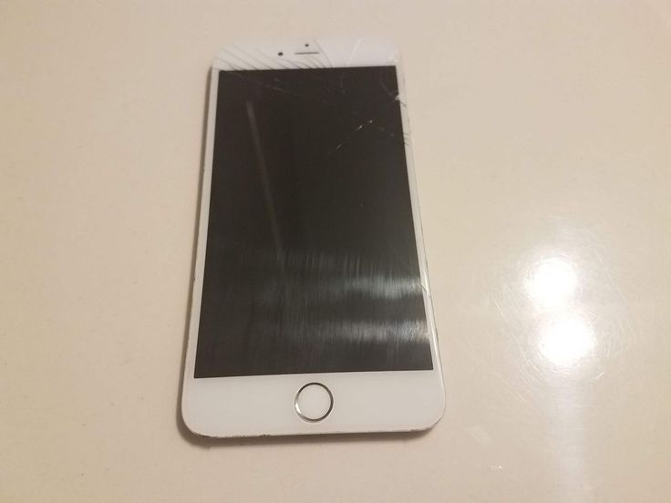 OEM Apple iPhone 6 Plus Cracked Screen with GOOD LCD & Digitizer **TESTED** #Apple