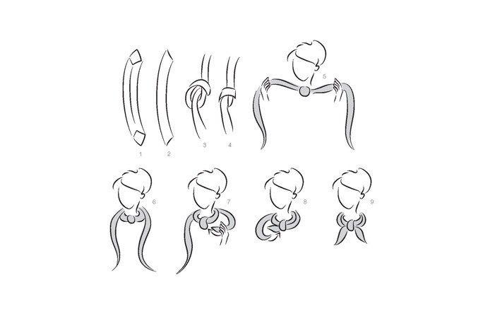 103 best mood board petrusse images on pinterest head - Hermes tuch binden ...