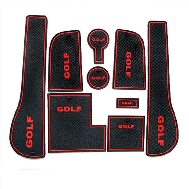 $27.28 (Buy here: https://alitems.com/g/1e8d114494ebda23ff8b16525dc3e8/?i=5&ulp=https%3A%2F%2Fwww.aliexpress.com%2Fitem%2FAutomotive-decoration-parts-for-VW-Volkswagen-Golf-7-accessory-Rubber-non-slip-mats-Interior-door-pad%2F32457084214.html ) Automotive decoration parts for VW Volkswagen Golf 7 accessory Rubber non-slip mats Interior door pad/cup mats , Car styling for just $27.28