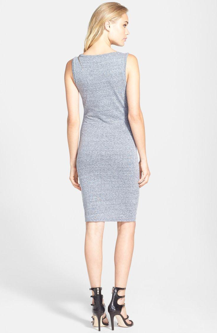 Ruched Long Sleeve Dress   Farby a Ženy s krivkami