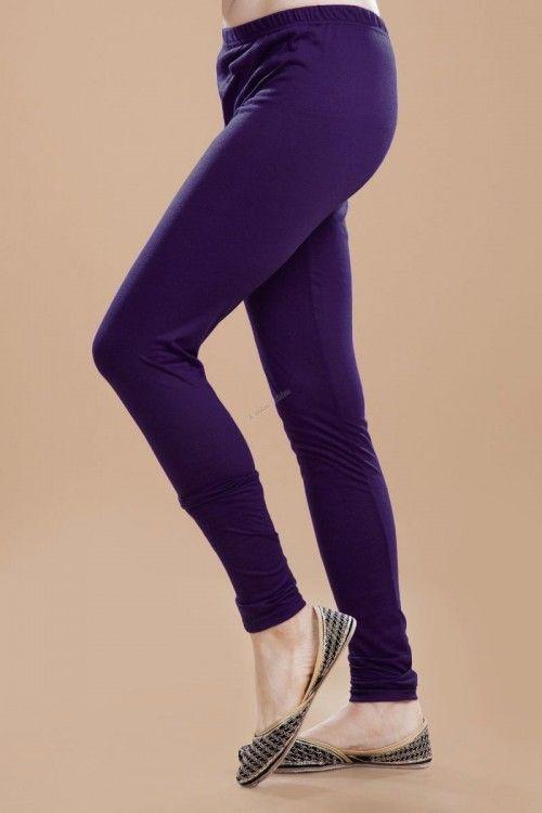 Purple Legging Online http://www.andaazfashion.co.uk/womens/legging-s-salwar