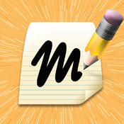 Mental Note- ipad app-notepad - type, record voice memos, insert images, draw, highlight, tag files (costs)