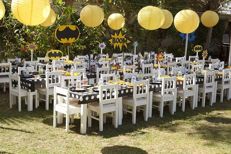 #Fiesta Batman para #niños