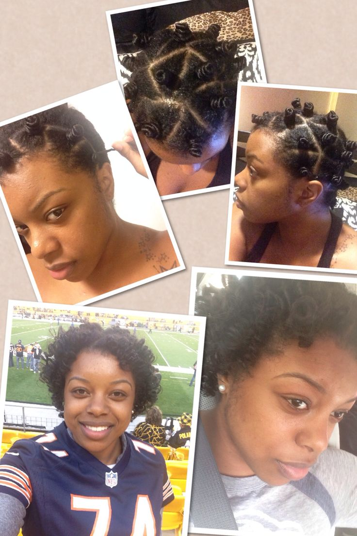 Small Bantu Knots Great Protective Hairstyle