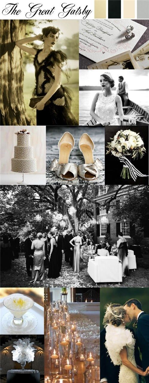 » Roaring '20s Wedding Inspiration | Vintage Wedding Videographer Nostalgia Film Blog