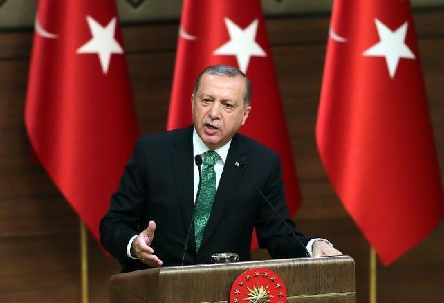 """Dünya – İngiliz Times gazetesi, başyazısında Erdoğan'ın Afrin operasyonuna ilişkin açıklamalarına """"Erdoğan Suriye'de ateşle oynuyor"""" yorumunda bulundu"""