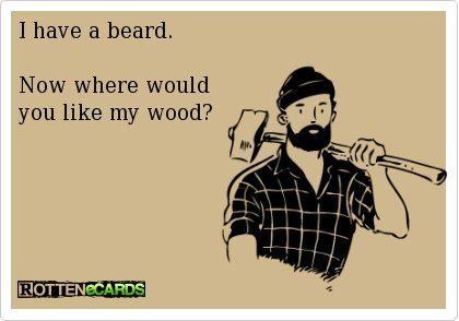 i have a beard