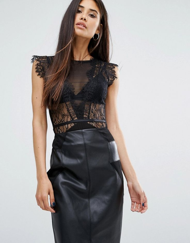 Image 1 of River Island Lace Body