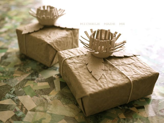michele made me: Video Tutorial: Egg Carton Gift Bow