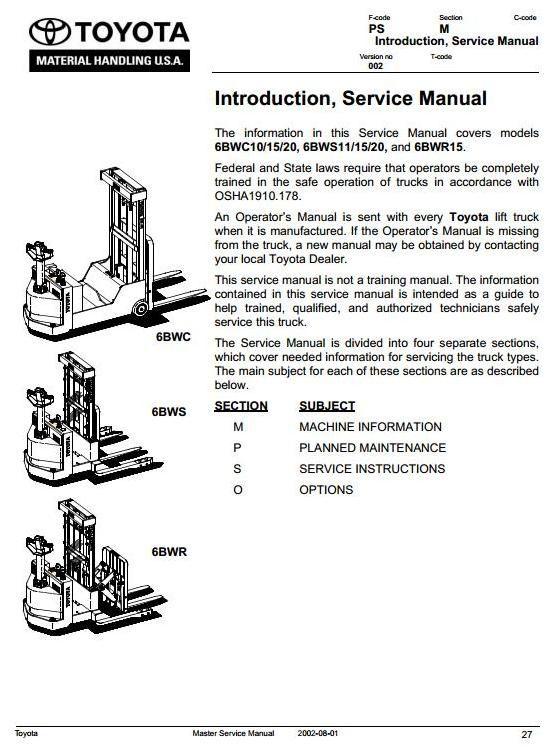 Original Illustrated Factory Workshop Service Manual for ...