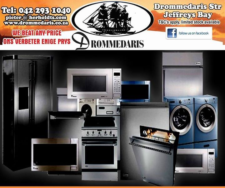 Don't spend more than 50 percent of the cost of a new product on repairing an old one. Drommedaris guarantees you excellent prices on top products! #furniture #appliances #save