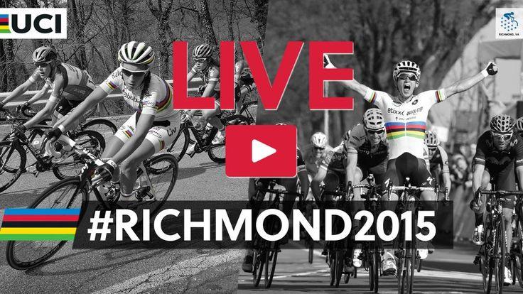 Women Elite Road race is starting now! Watch it LIVE on our website http://bit.ly/1MwdbAk #Richmond2015
