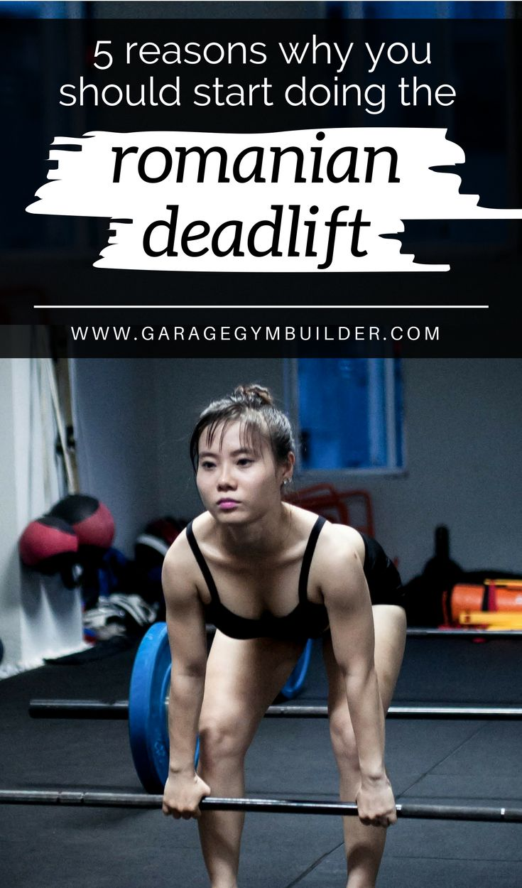 An exercise that surprisingly is advantageous for anyone who wishes to strengthen and lengthen their hamstrings is the Romanian deadlift, or RDL for short. Even though it is called a Romanian deadlift, the exercise is not a deadlift nor did it originate in Romania. There are a number of good reasons to add the RDL to your workout routine, some of which are listed here. #HomeGym #GarageGym #HomeFitness #CrossFit