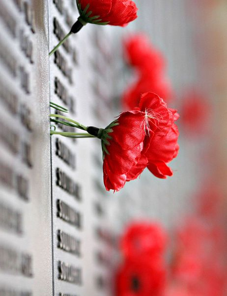 At the Australian War Memorial - Canberra Lest we forget.