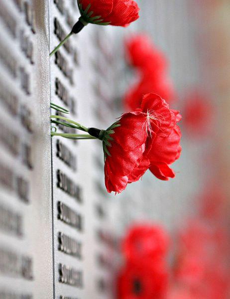 At the Australian War Memorial - Canberra