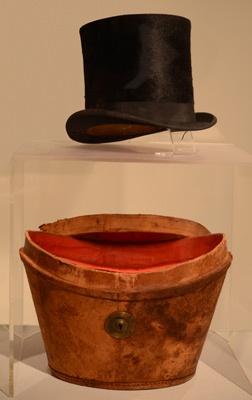 Chapeau de Frank Alfred Aubin, jerseyais fin XIXe, début XXe sciècle