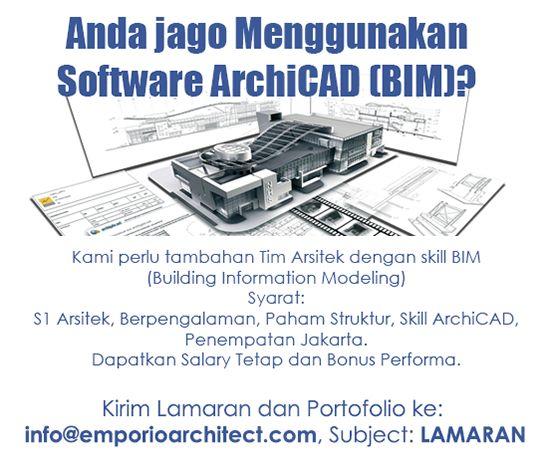 Lowongan kerja arsitek 17 mei 2016 ~ Teknologi Konstruksi Arsitektur