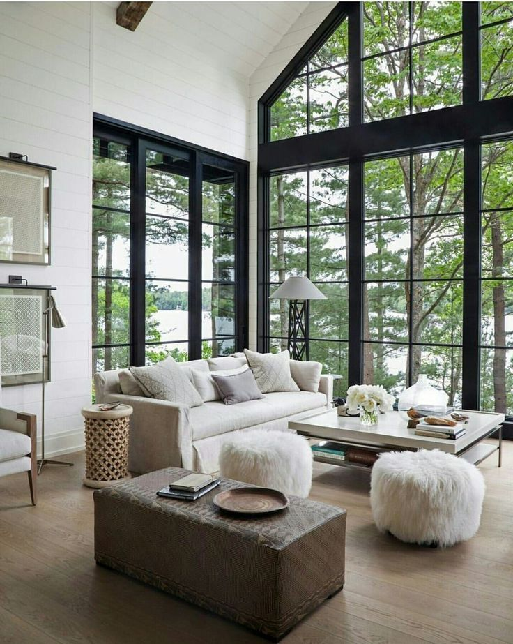 38 Beautiful Lake House Decorating Ideas Modern Lake House Winter Living Room Lakehouse Decor