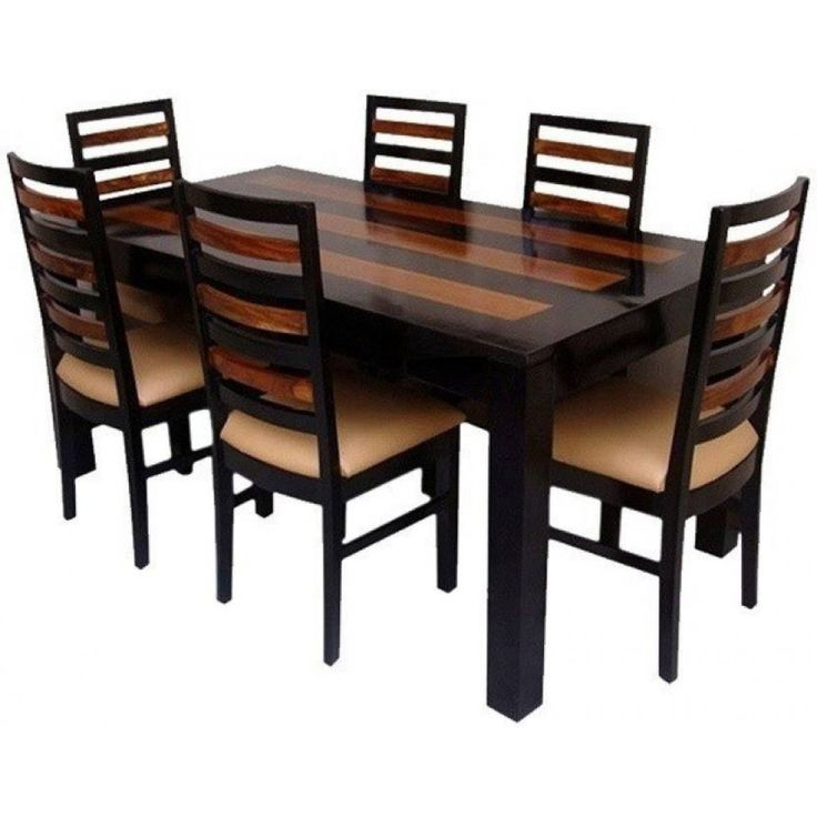 Marvelous Rose Wooden Designed U0026 Crafted GoRevizonu0027s 6 Seater Dining Table Set Online  At The Cheap Rates