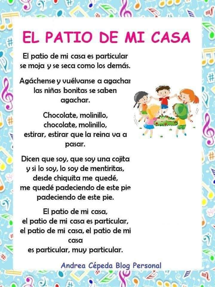 Canciones Infantiles Para Un Buen Inicio De Curso Canciones Infantiles Letras De Canciones Infantiles Canciones Infantiles Populares