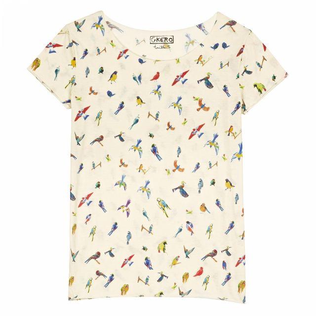 Little Birds - Spring Summer 2016 Women, T-Shirts - G.KERO
