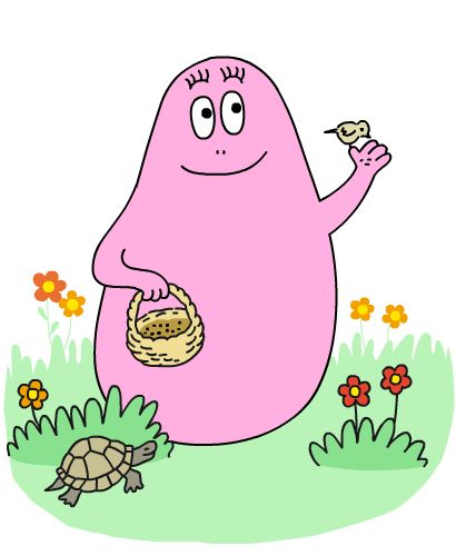 Barbapapa website available in several different languages with interactive books